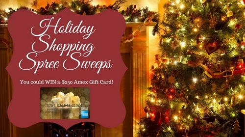 Holiday Sweepstakes Banner